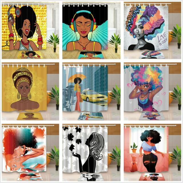 African American Shower Curtain Art For