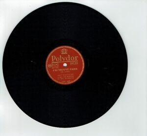 78T-25cm-Jack-GAUTHIER-Joe-BOYER-Disk-J-039-AI-LOCATED-PARIS-POLYDOR-560306-RARE