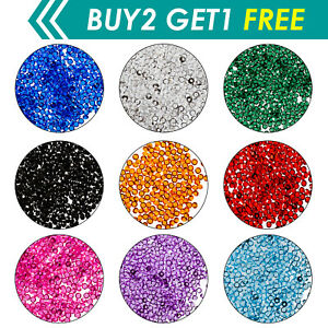 6000pcs Mariage Décor Scatter Table Cristaux Diamants Acrylique Confettis Sparkle