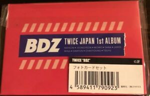 NEW-TWICE-JPN-1st-ALBUM-BDZ-Release-event-Limited-Official-Photocard-set-F-S