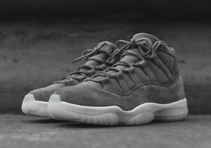 a6a88bb8e7e1d1 NIKE AIR JORDAN XI 11 RETRO PREMIUM PRM PINNACLE SUEDE 914433-003