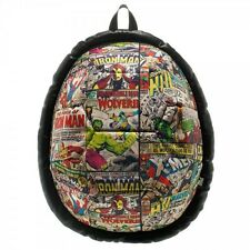 Official Marvel Comics Comic Book Superhero Allover Print Dome Backpack Bag NEW