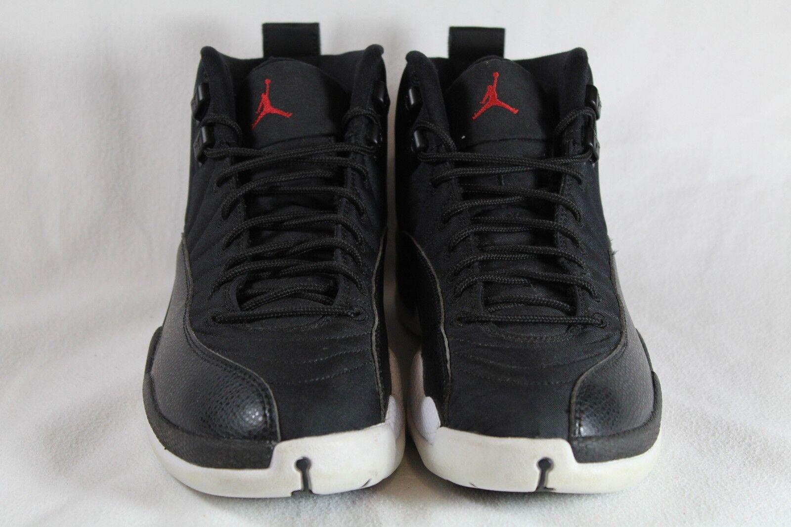 Air Jordan 12 Nylon Größe Größe Größe 8 Pre-Owned Great Condition 130690 004 1d8299
