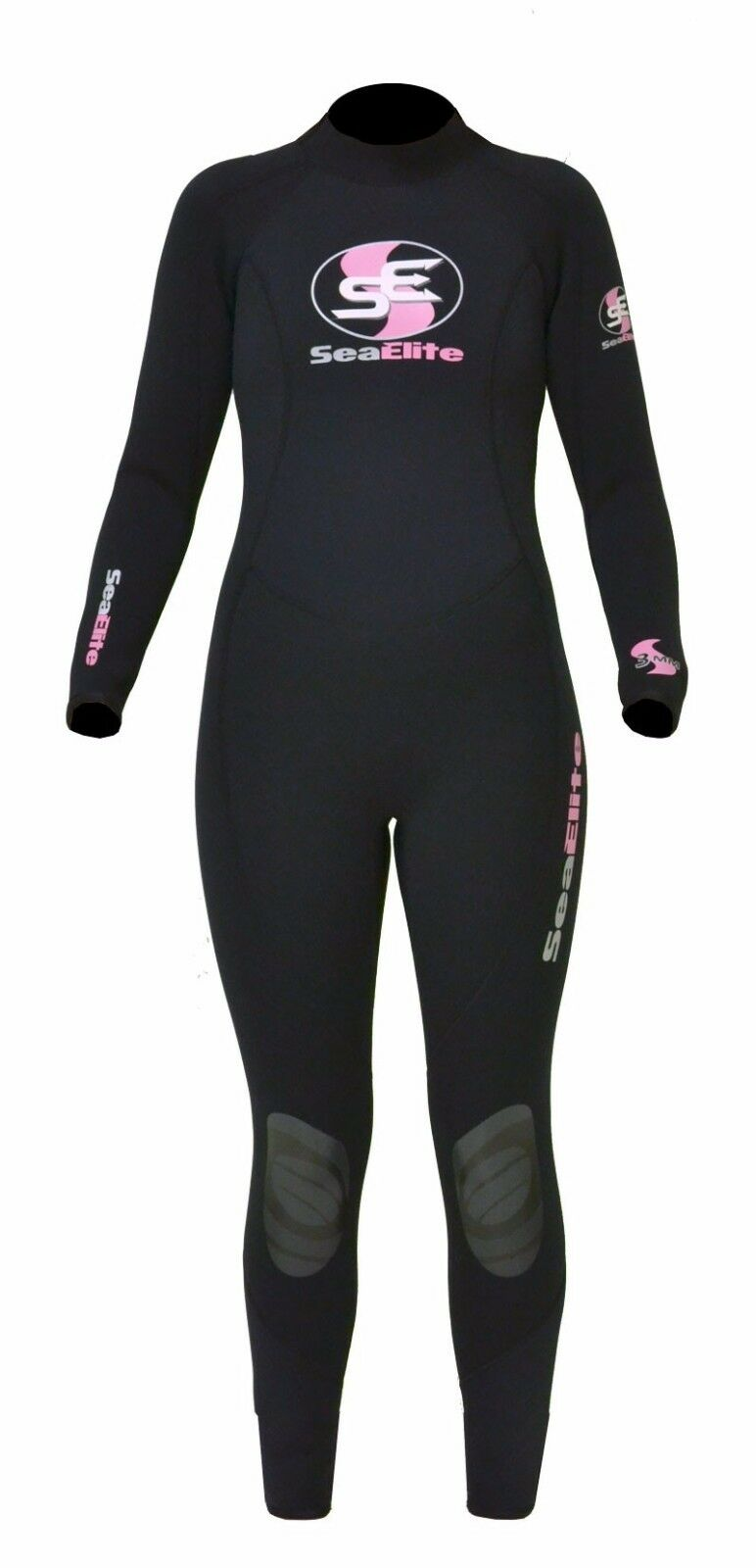 Sea Elite EQ2 3mm Full Wetsuit Womens SIZE 4  SEE-EQ2-WMS-FS-4