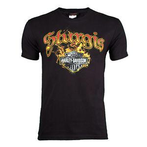 Sturgis Harley-Davidson® Men/'s Skull Edgy Long Sleeve T-Shirt