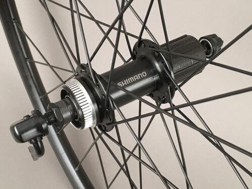 "Alex Rims Mountain Bike Wheelset 26/"" Shimano Centerlock Disc or Rim Brake Black"