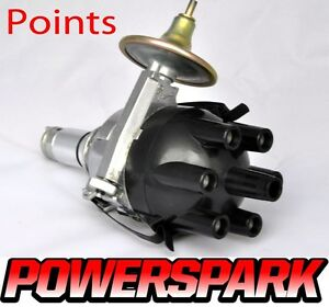 Land-Rover-2-6-six-pot-Points-Distributor-25D6-Powermax-Red-Rotor-Arm