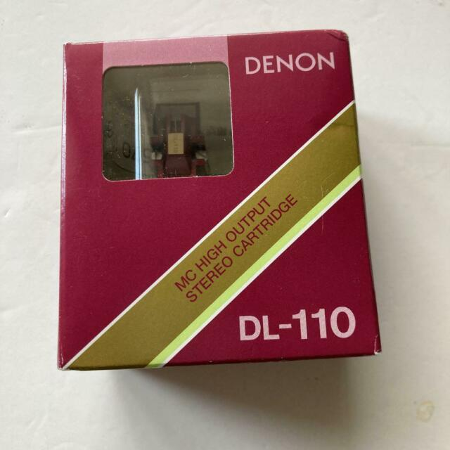 DENON Moving Coil DL-110 MC High Output Stereo Cartridge from Japan