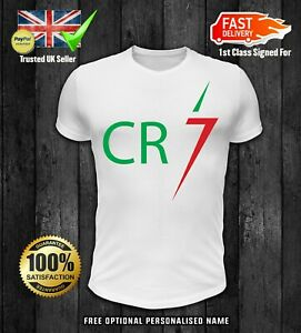 huge selection of 2cef1 5cc6d Details about CRISTIANO RONALDO boys kids CR7 JUVENTUS FORZA SOCCER UNISEX  TOP t shirt 2