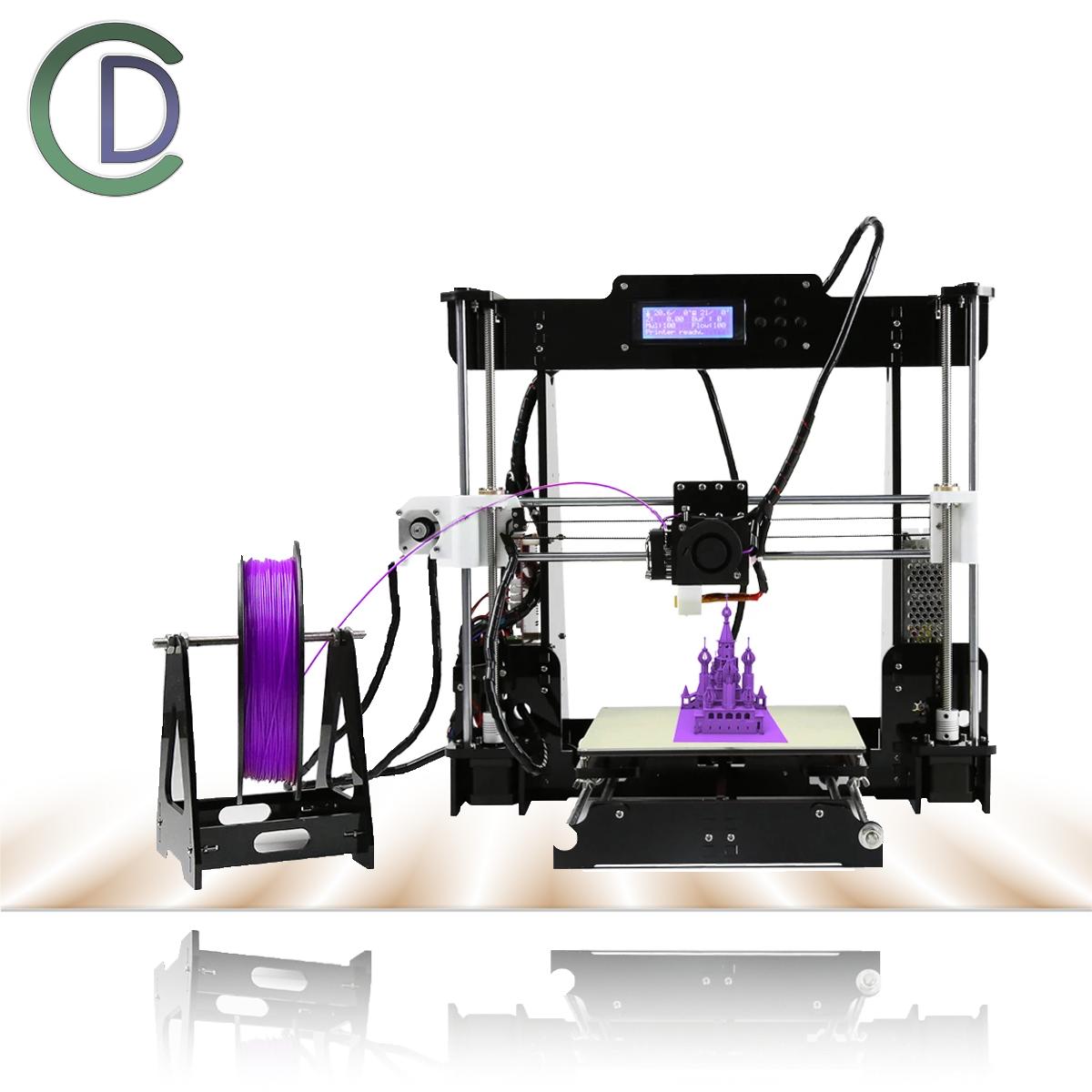 Anet® A8 3D Drucker DIY Kit 1.75mm / 0.4mm unterstützen ABS / PLA / HIPS