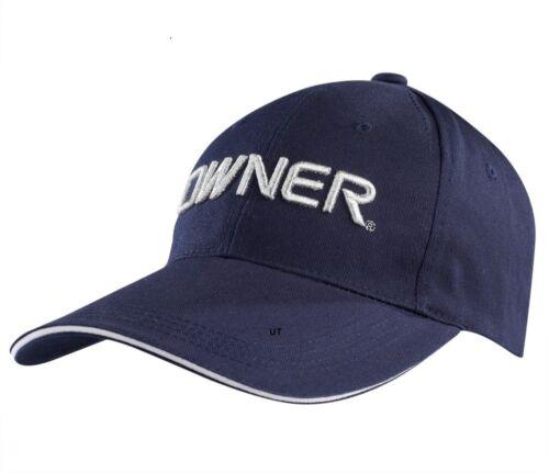 dunkelblau Mütze Kappe Owner CAP Logo gestickt
