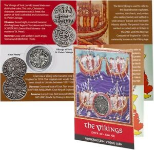 The-Vikings-Reproduction-Viking-Coin-Cnut-Penny-I-Vichinghi-Moneta-Canuto