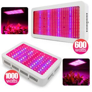 600W-1000W-LED-Grow-Lampe-Voll-Spektrum-Pflanzen-Licht-Wachsen-fuer-Blumen-Gemuese