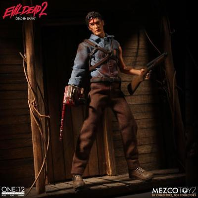 Mezco One:12 Collective Evil Dead 2 Ash Dead by Dawn Action Figure In Stock USA
