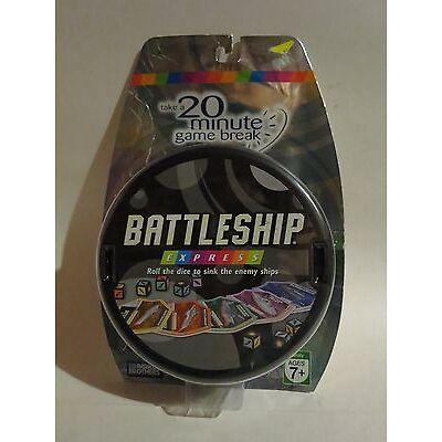 Battleship Express 20 Minute Game Travel Size New NIP