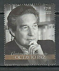 Mexico Mail 2014 Yvert 2806 MNH Character