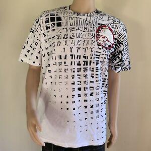 Metal-Mulisha-Men-s-Scope-Grid-Tee-T-Shirt-SIze-L