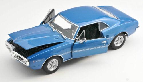 Spedizione LAMPO Pontiac Firebird 1967 türkies MET Welly Modello Auto 1:24 NUOVO /& OVP