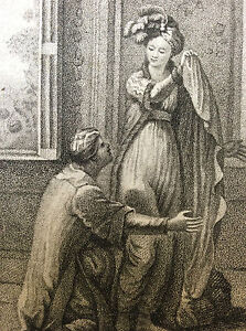 Rousseau-Confessions-Engraving-Scene-Oriental-Schnorr-and-Mangot-France