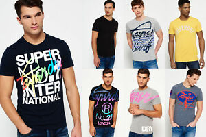 New-Mens-Superdry-Tshirts-Selection-Various-Styles-amp-Colours-3008