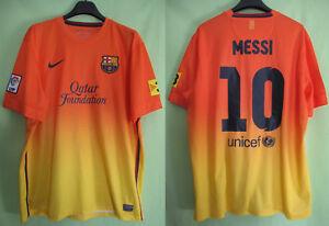Détails sur Maillot Barcelone FCB Barcelona Qatar Foundation Nike vintage Messi Jersey XL