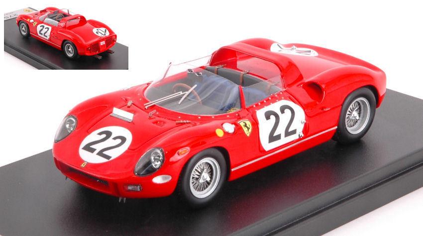Ferrari 275p 275p 275p  22 Accident Lm 1964 G. Baghetti   U. Maglioli 1 43 Model LOOKSMART 33dad6