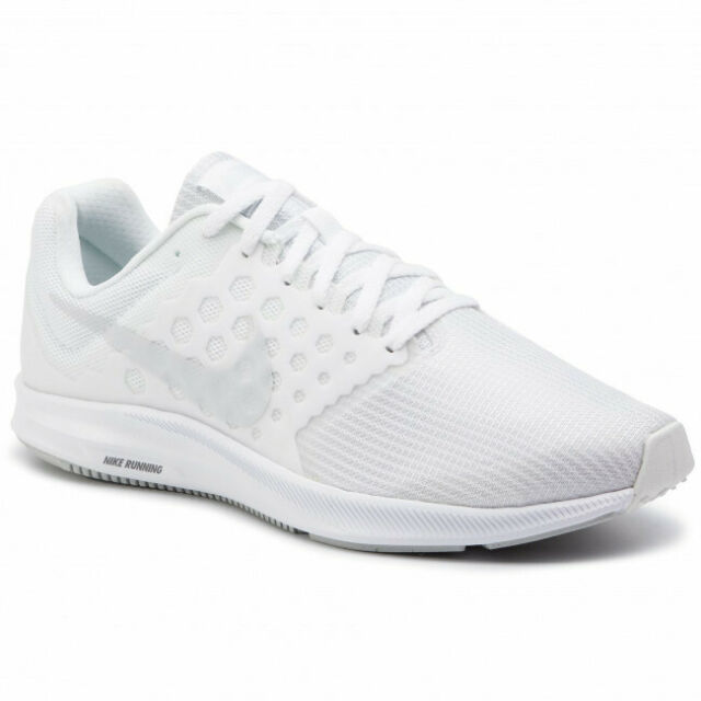 Size 7 - Nike Downshifter 7 White for