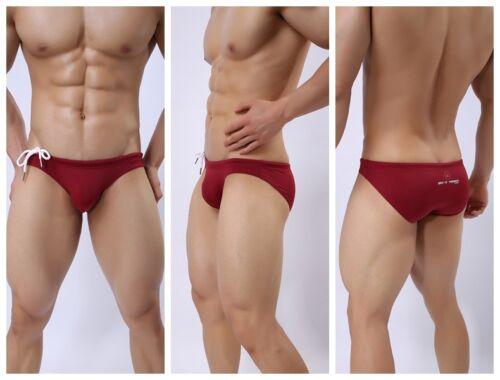 New men swimwear swim underwear Briefs Bikini  Beachwear swimming trunks  M-XL