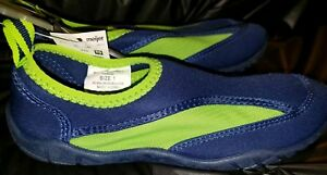 WAVE ZONE Navy Blue And Neon Green Boys