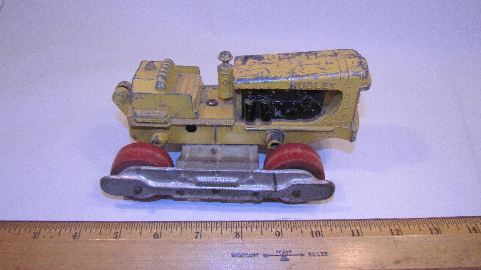 Vintage Rare Hubley Tractor Wood Wheels