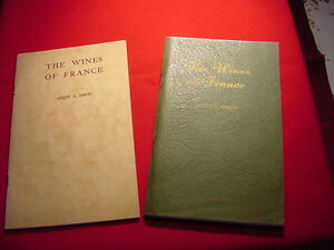 THE WINES OF FRANCE ANDRE L SIMON Vintage 1935