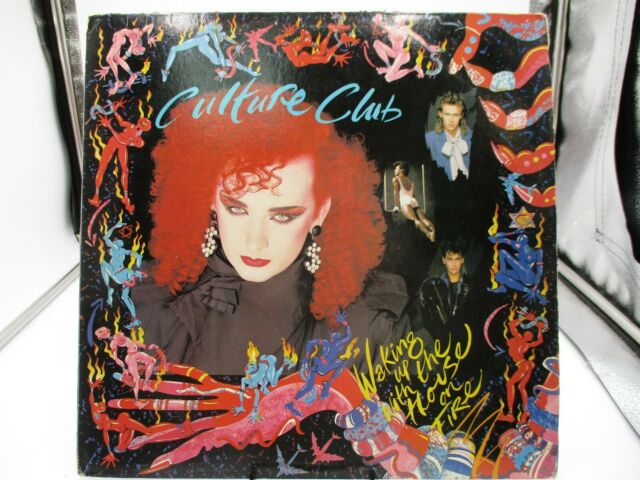 CULTURE CLUB. WAKING UP THE HOUSE ON FIRE. VIRGIN/EPIC. OE39881. . VG+ c VG/VG+