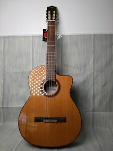 Cordoba C5-CE Classical Cutaway Acoustic-Electric Guitar Sunburst small defect