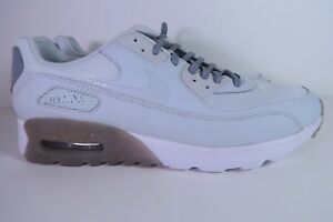 Details about NIKE AIR MAX 90 ULTRA ESSENTIAL 724981 008 Pure Platinum Stealth Womens Size 11