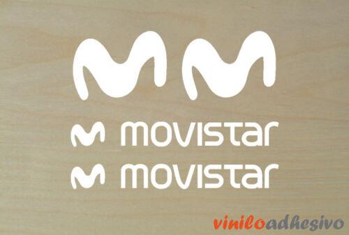 Sticker Sticker Vinile Movistar Squadra Motorbike Autocollanti Adesivo Adesivi