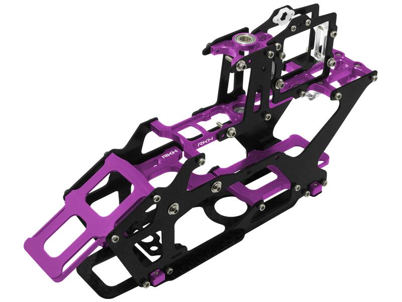 Rakon CNC AL and CF Main Frame Set - Blade 230 S viola