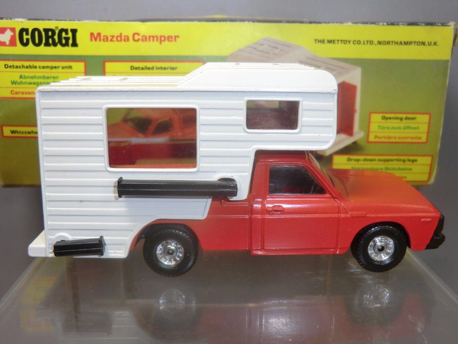 CORGI TOYS MODEL No. 415 MAZDA MAZDA MAZDA   CAMPER             VN   MIB c84ca7