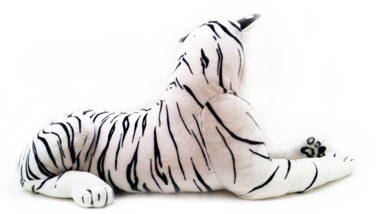 New Extra Large Weiß Tiger Soft Cuddly Toy 150cm Soft UK Toy Plush Massive UK Soft 754247