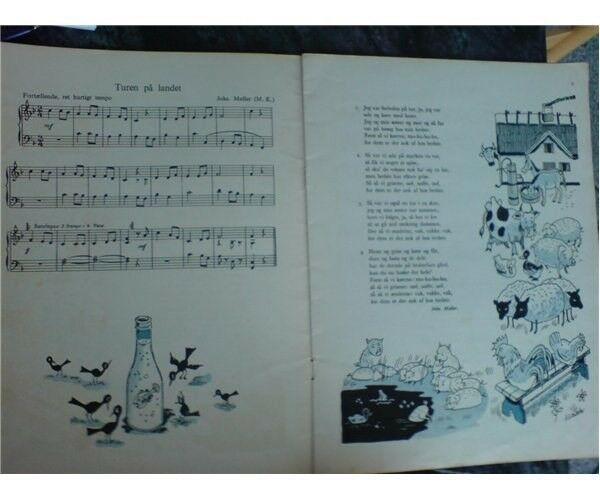 Vi synger sammen. Hefte 2. med klaverakkoakompa...