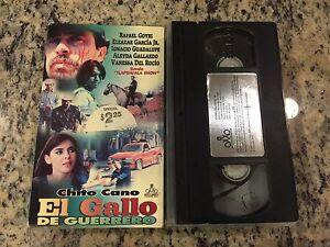 El Gallo De Guerrero Rare Vhs 2000 Spanish Mexi Chito Cano Vanessa