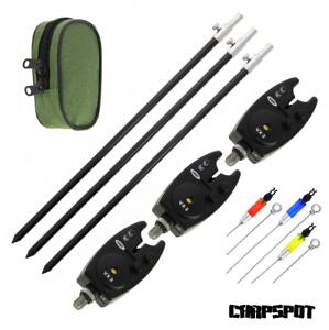 Bank-Stick-Black-Label-elektronische-Bissanzeiger-Hanger-Rod-Pod-Rutenhalter