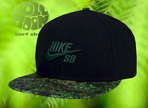 Image is loading New-Nike-SB-Fern-Camo-Mens-Skakeboarding-Snapback- 4e3cfd0cba6