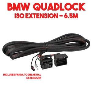 bmw iso wiring quadlock connector power speaker aerial. Black Bedroom Furniture Sets. Home Design Ideas