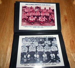 BRENTFORD-FOOTBALL-CLUB-Photo-Album-1930-039-s-40-039-s-50-039-s