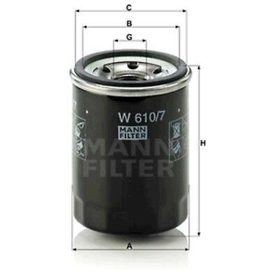 LPG MANN Luftfilter Hyundai i10 IA 1,0 1,2