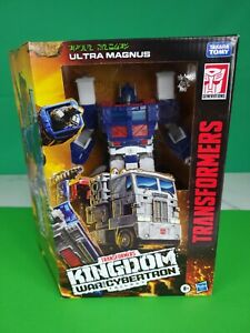 ***Free Shipping***War for cybertron kingdom ULTRA MAGNUS: Hasbro