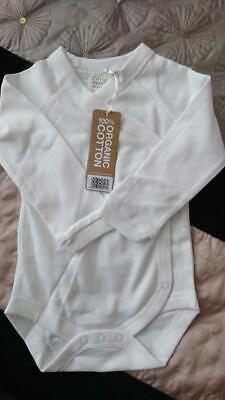 Little Green Radicals Secret Garden bubble body vest Organic Cotton 0 3 6 9 12