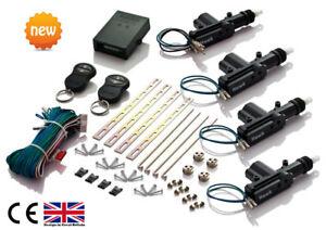 free Splice Connectors UK Control Remoto Universal * Sin Llave Central Puerta Bloqueo Kit