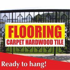 Flooring Carpet Hardwood Tile Banner Vinyl Mesh Banner Sign Hardware Store