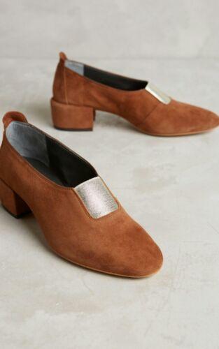 Shoe van 7 278 Grootte Slip Suede Anthropologie 37 Bootie Elodie Zell Bruno WqZAaXzEa